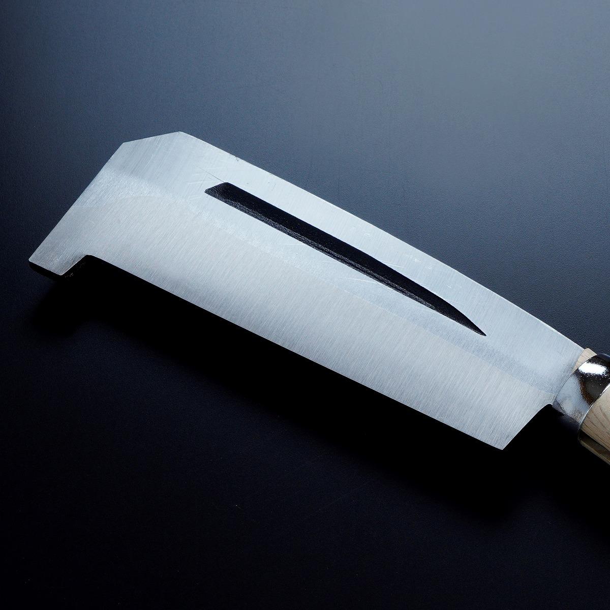 箸付 黒打鉈 片刃180mm 刃先2