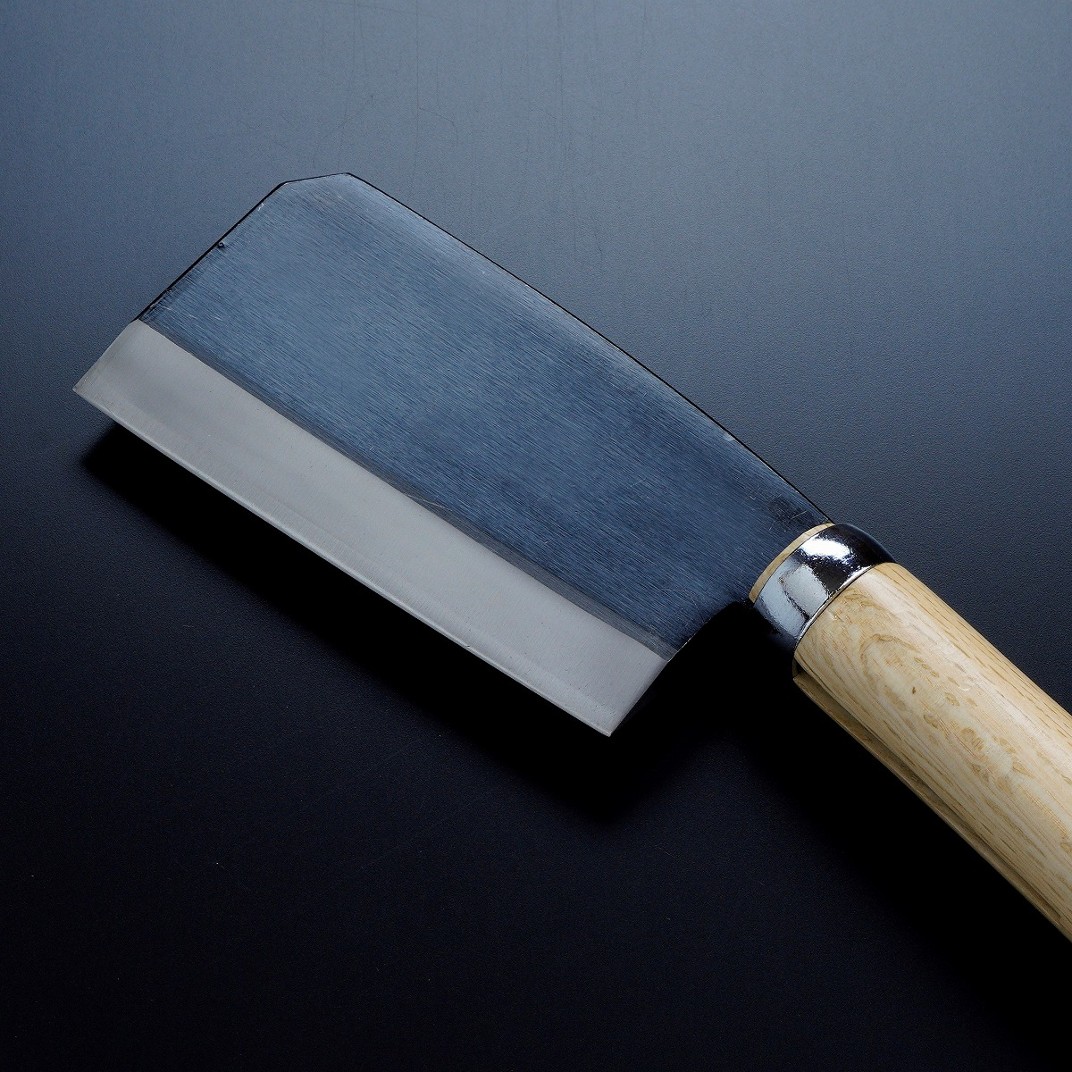 黒打厚鉈 東型 両刃135mm 刃先2