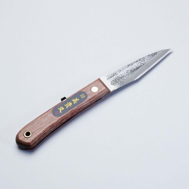 美貴久 鋼付 折込小刀 折りたたみナイフ